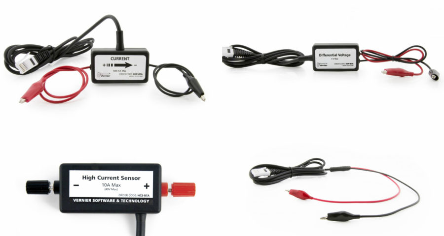 сенсоры учебные для экспериментов по физике и химии