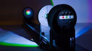 оптика на урок физики - в учебном кабинете