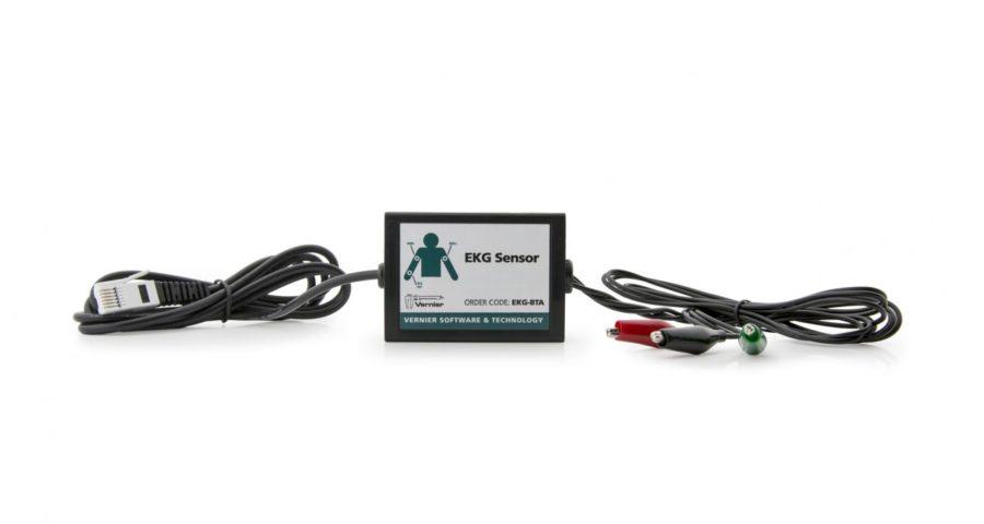датчик електрокардіограф - кардіограма на уроках біології