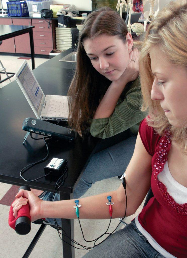 вивчення скорочень серця на класних заняттях