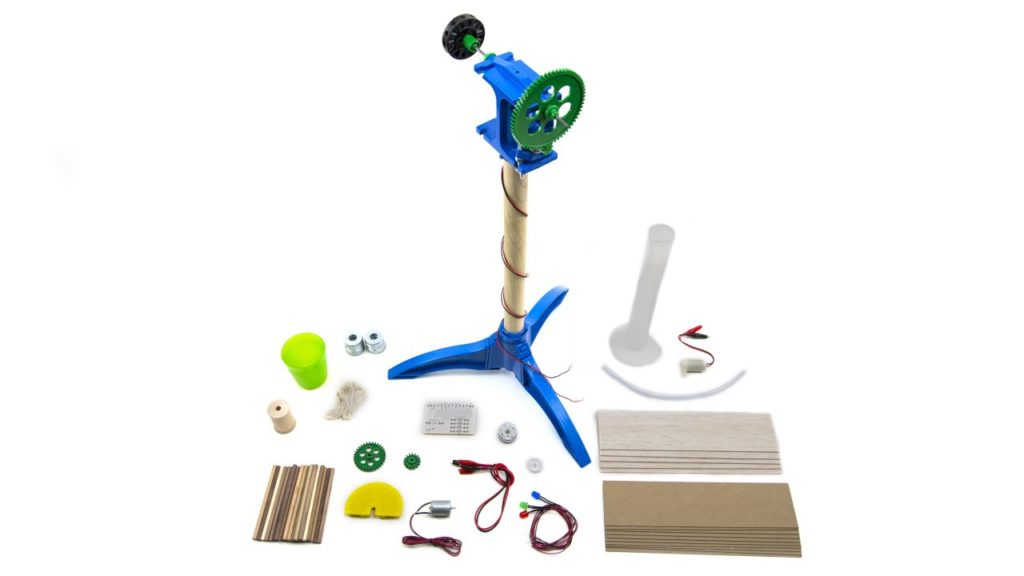 вітровий генератор для навчання - розширений комплект