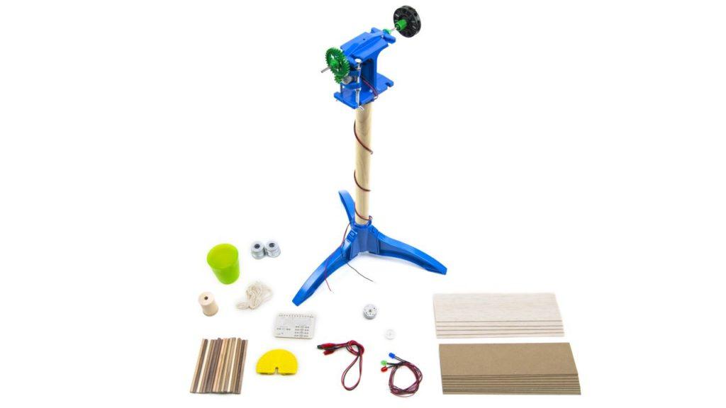 навчальний вітровий генератор - проста комплектація