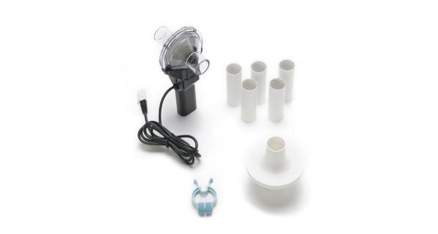 пристрій вимірювання об'єму легень для закладів освіти