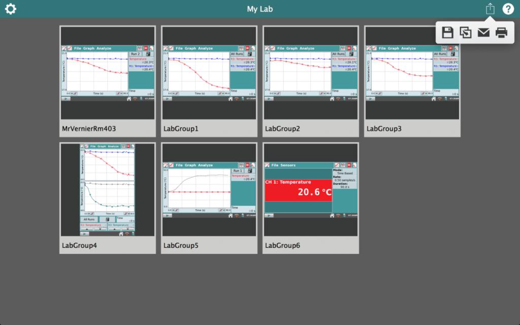 контроль проведення досліджень з LabQuest Viewer